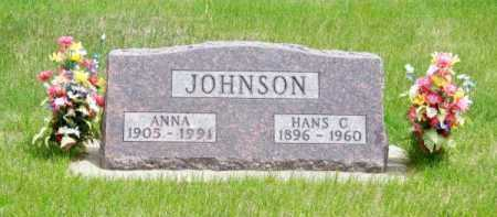 JOHNSON, HANS C. - Brown County, Nebraska   HANS C. JOHNSON - Nebraska Gravestone Photos
