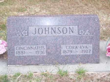 JOHNSON, CINCINNATUS - Brown County, Nebraska | CINCINNATUS JOHNSON - Nebraska Gravestone Photos