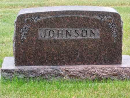 JOHNSON, FAMILY - Brown County, Nebraska   FAMILY JOHNSON - Nebraska Gravestone Photos