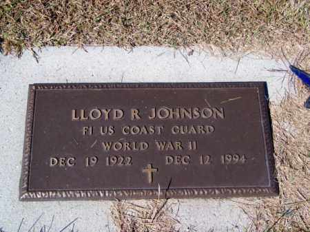 JOHNSON, LLOYD R. - Brown County, Nebraska   LLOYD R. JOHNSON - Nebraska Gravestone Photos