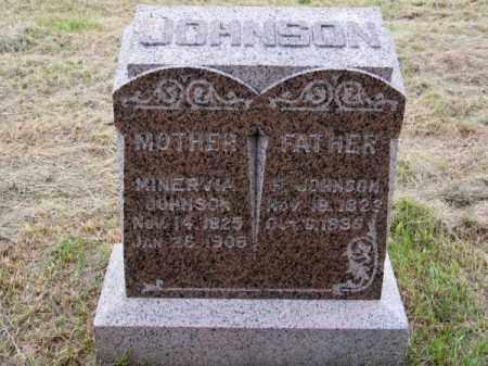 JOHNSON, MINERVIA - Brown County, Nebraska | MINERVIA JOHNSON - Nebraska Gravestone Photos
