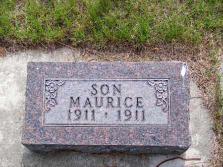 JOHNSON, MAURICE - Brown County, Nebraska | MAURICE JOHNSON - Nebraska Gravestone Photos
