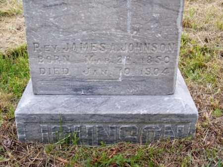 JOHNSON, REV. JAMES A. - Brown County, Nebraska | REV. JAMES A. JOHNSON - Nebraska Gravestone Photos