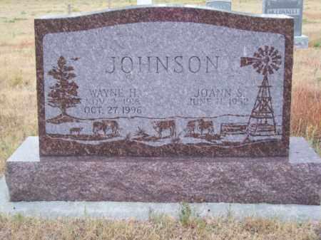 JOHNSON, WAYNE H. - Brown County, Nebraska | WAYNE H. JOHNSON - Nebraska Gravestone Photos