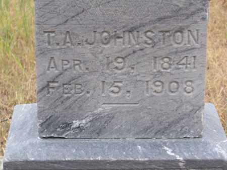 JOHNSTON, T. A. - Brown County, Nebraska | T. A. JOHNSTON - Nebraska Gravestone Photos