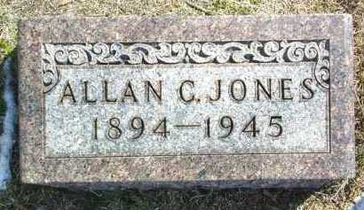 JONES, ALLAN - Brown County, Nebraska | ALLAN JONES - Nebraska Gravestone Photos