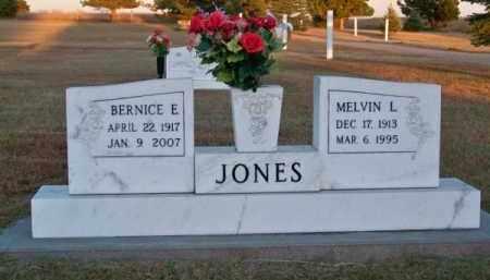 JONES, MELVIN L. - Brown County, Nebraska | MELVIN L. JONES - Nebraska Gravestone Photos