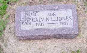 JONES, CALVIN L. - Brown County, Nebraska   CALVIN L. JONES - Nebraska Gravestone Photos