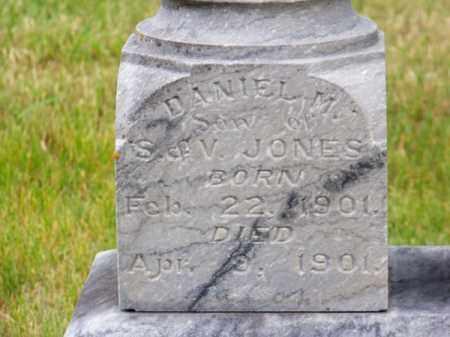 JONES, DANIEL M. - Brown County, Nebraska | DANIEL M. JONES - Nebraska Gravestone Photos