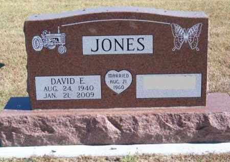 JONES, DAVID E. - Brown County, Nebraska | DAVID E. JONES - Nebraska Gravestone Photos