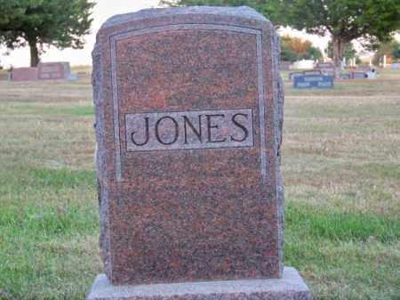 JONES, FAMILY - Brown County, Nebraska   FAMILY JONES - Nebraska Gravestone Photos