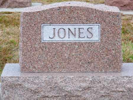 JONES, FAMILY - Brown County, Nebraska | FAMILY JONES - Nebraska Gravestone Photos