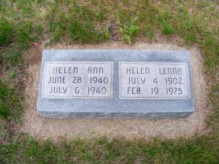 JONES, HELEN ANN - Brown County, Nebraska | HELEN ANN JONES - Nebraska Gravestone Photos