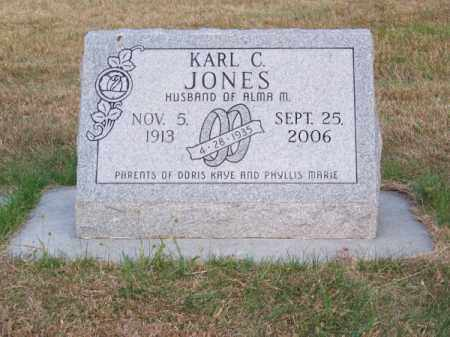 JONES, KARL C. - Brown County, Nebraska | KARL C. JONES - Nebraska Gravestone Photos