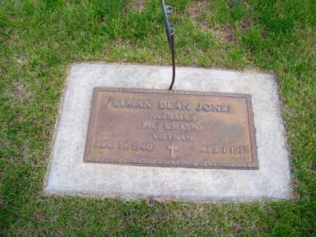 JONES, LYMAN DEAN - Brown County, Nebraska | LYMAN DEAN JONES - Nebraska Gravestone Photos