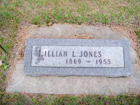 JONES, LILLIAN L. - Brown County, Nebraska | LILLIAN L. JONES - Nebraska Gravestone Photos
