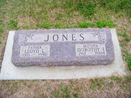 JONES, LLOYD L. - Brown County, Nebraska | LLOYD L. JONES - Nebraska Gravestone Photos
