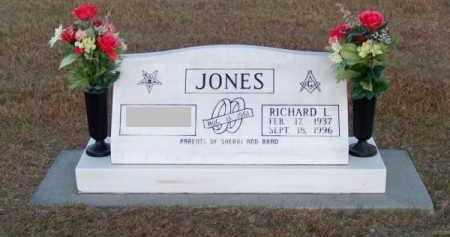 JONES, RICHARD L. - Brown County, Nebraska   RICHARD L. JONES - Nebraska Gravestone Photos