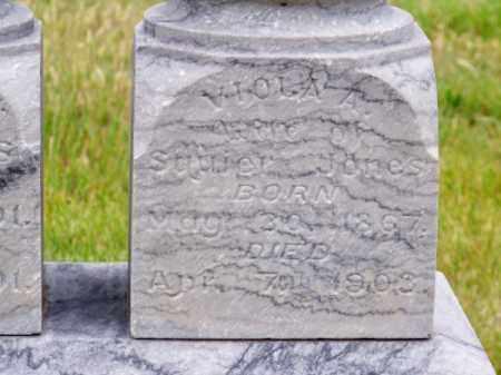JONES, VIOLA A. - Brown County, Nebraska   VIOLA A. JONES - Nebraska Gravestone Photos