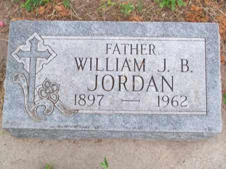 JORDAN, WILLIAM J. B. - Brown County, Nebraska | WILLIAM J. B. JORDAN - Nebraska Gravestone Photos