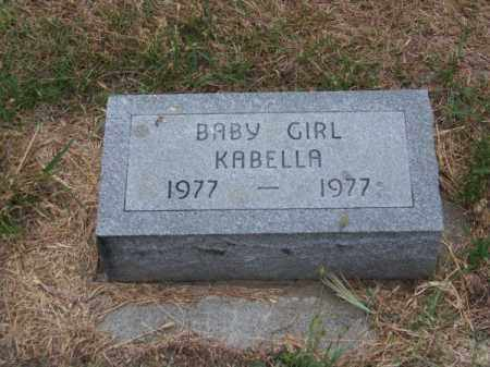 KABELLA, BABY GIRL - Brown County, Nebraska | BABY GIRL KABELLA - Nebraska Gravestone Photos