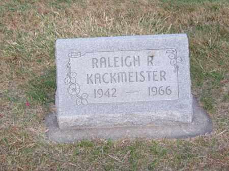 KACKMEISTER, RALEIGH R. - Brown County, Nebraska | RALEIGH R. KACKMEISTER - Nebraska Gravestone Photos