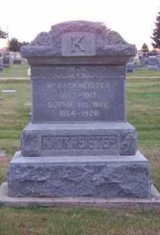 KACKMEISTER, WM. - Brown County, Nebraska | WM. KACKMEISTER - Nebraska Gravestone Photos