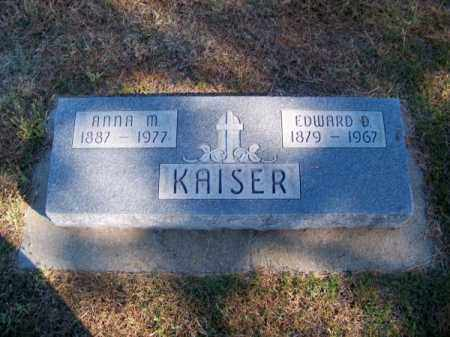 KAISER, EDWARD D. - Brown County, Nebraska | EDWARD D. KAISER - Nebraska Gravestone Photos