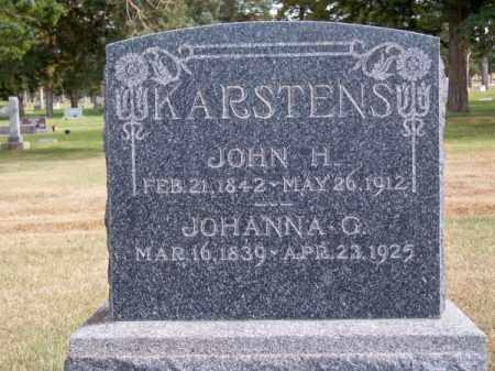 KARSTENS, JOHANNA G. - Brown County, Nebraska | JOHANNA G. KARSTENS - Nebraska Gravestone Photos