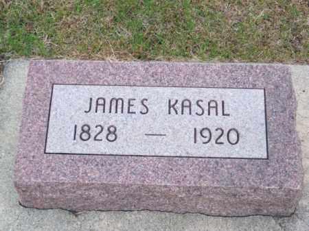 KASAL, JAMES - Brown County, Nebraska | JAMES KASAL - Nebraska Gravestone Photos