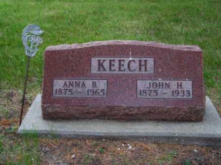 KEECH, JOHN H. - Brown County, Nebraska | JOHN H. KEECH - Nebraska Gravestone Photos