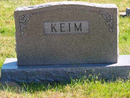 KEIM, FAMILY - Brown County, Nebraska | FAMILY KEIM - Nebraska Gravestone Photos