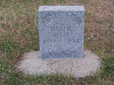 KELLY, HATTIE - Brown County, Nebraska | HATTIE KELLY - Nebraska Gravestone Photos