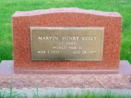 KELLY, MARVIN HENRY - Brown County, Nebraska   MARVIN HENRY KELLY - Nebraska Gravestone Photos