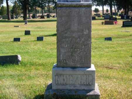 KIMBALL, FAMILY - Brown County, Nebraska | FAMILY KIMBALL - Nebraska Gravestone Photos