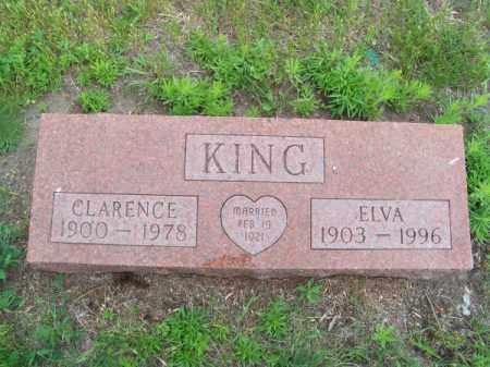 KING, ELVA - Brown County, Nebraska | ELVA KING - Nebraska Gravestone Photos