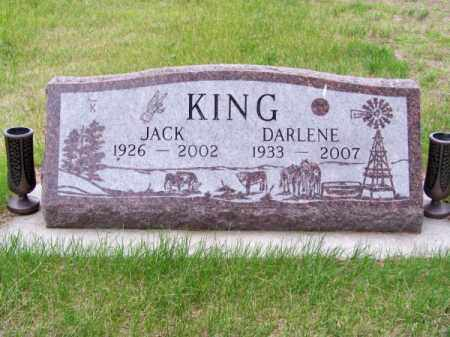KING, DARLENE - Brown County, Nebraska | DARLENE KING - Nebraska Gravestone Photos