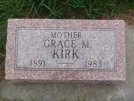 KIRK, GRACE M. - Brown County, Nebraska | GRACE M. KIRK - Nebraska Gravestone Photos