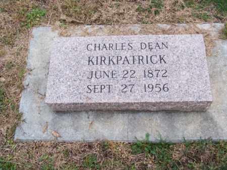 KIRKPATRICK, CHARLES DEAN - Brown County, Nebraska | CHARLES DEAN KIRKPATRICK - Nebraska Gravestone Photos