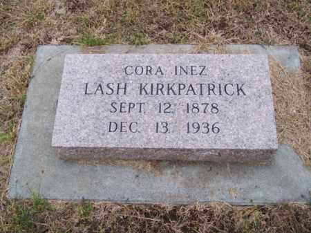 KIRKPATRICK, CORA INEZ - Brown County, Nebraska | CORA INEZ KIRKPATRICK - Nebraska Gravestone Photos