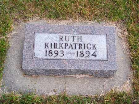 KIRKPATRICK, RUTH - Brown County, Nebraska | RUTH KIRKPATRICK - Nebraska Gravestone Photos