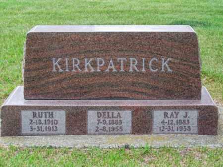 KIRKPATRICK, DELLA - Brown County, Nebraska | DELLA KIRKPATRICK - Nebraska Gravestone Photos