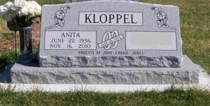 LEWIS KLOPPEL, ANITA - Brown County, Nebraska   ANITA LEWIS KLOPPEL - Nebraska Gravestone Photos