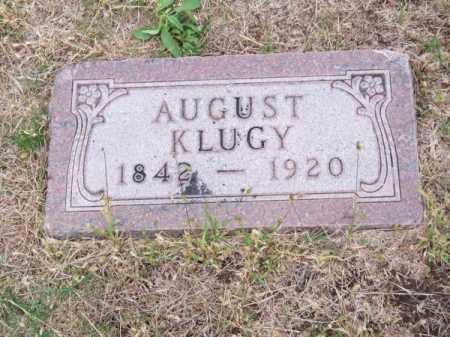 KLUGY, AUGUST - Brown County, Nebraska   AUGUST KLUGY - Nebraska Gravestone Photos