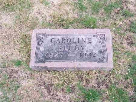 KLUGY, CAROLINE - Brown County, Nebraska | CAROLINE KLUGY - Nebraska Gravestone Photos