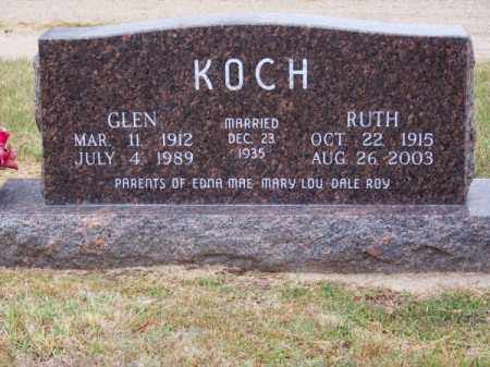KOCH, GLEN O. - Brown County, Nebraska | GLEN O. KOCH - Nebraska Gravestone Photos