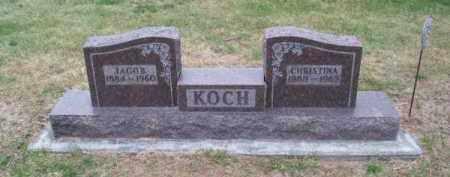 KOCH, CHRISTINA - Brown County, Nebraska | CHRISTINA KOCH - Nebraska Gravestone Photos