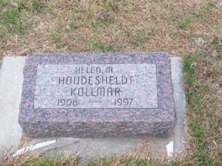 HOUDESHELDT KOLLMAR, HELEN M. - Brown County, Nebraska   HELEN M. HOUDESHELDT KOLLMAR - Nebraska Gravestone Photos