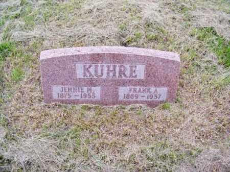 KUHRE, JENNIE M. - Brown County, Nebraska | JENNIE M. KUHRE - Nebraska Gravestone Photos