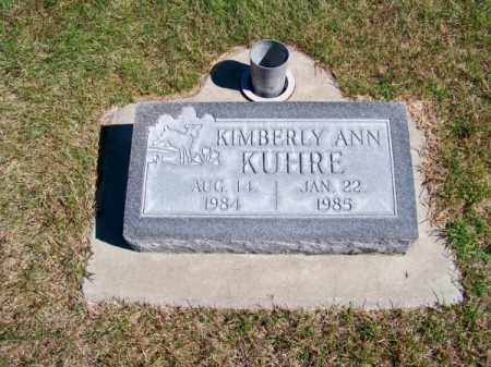 KUHRE, KIMBERLY ANN - Brown County, Nebraska | KIMBERLY ANN KUHRE - Nebraska Gravestone Photos